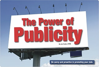 Power of Publicity - Toastmasters Magazine September 2008
